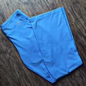 Nike Dri-fit woman's blue pants